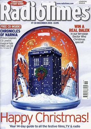 The Christmas Invasion - Image: Radio Times cvr