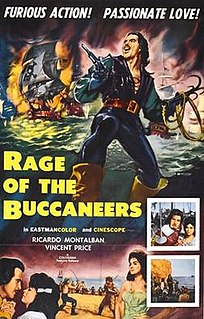<i>Rage of the Buccaneers</i> 1961 film by Mario Costa