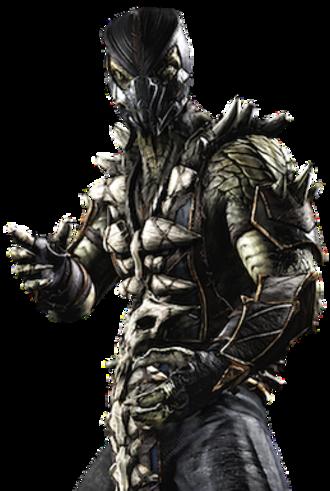 Reptile (Mortal Kombat) - Reptile in Mortal Kombat X (2015)