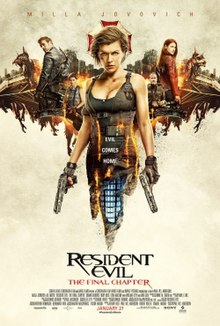 Resident Evil: The Final Chapter full movie watch online free (2016)