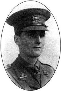 Richard William Leslie Wain Recipient of the Victoria Cross