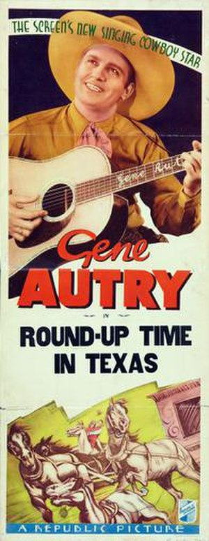 Round-Up Time in Texas - Theatrical release poster