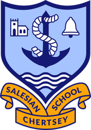 Salesian School, Chertsey - Salesian School crest