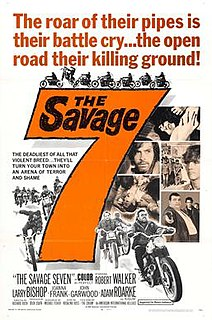 <i>The Savage Seven</i> 1968 film by Richard Rush