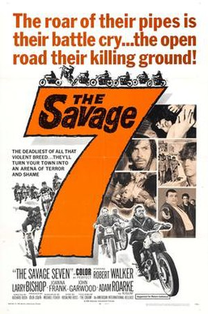 The Savage Seven - Theatrical poster