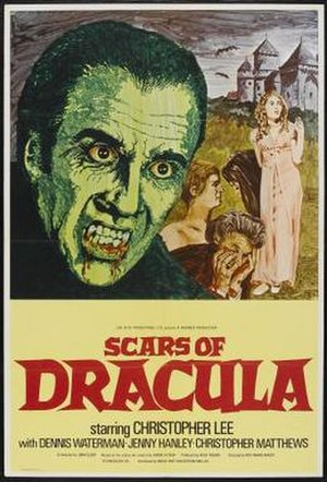 Scars of Dracula - Film poster