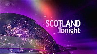 Scotland Tonight - Image: Scotland Tonight