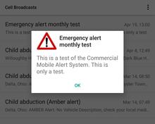 Wireless Emergency Alerts Wikipedia