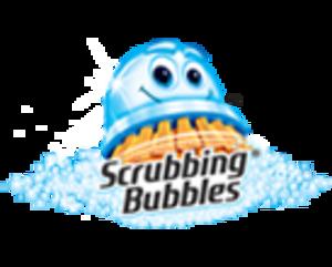 Scrubbing Bubbles - Image: Scrubbing bubbles home logo 2