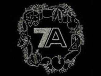 Seven Arts Productions - Second logo (1961-1964)