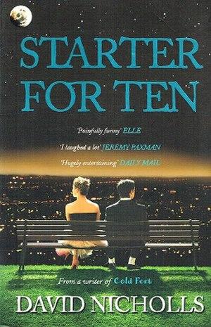 Starter for Ten (novel) - Front cover