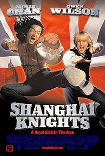 <i>Shanghai Knights</i> 2003 action comedy film directed by David Dobkin