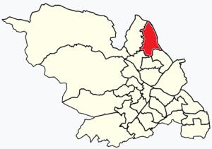 East Ecclesfield - Image: Sheffield wards East Ecclesfield