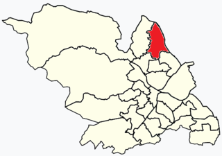 East Ecclesfield Electoral ward in the City of Sheffield, South Yorkshire, England