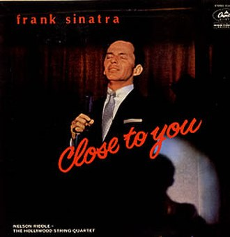 Close to You (Frank Sinatra album) - Image: Sinatraclosetoyou