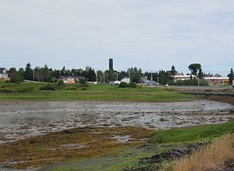 Passamaquoddy Pleasant Point Reservation - View of Sipayik from Maine State Route 190
