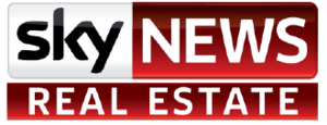 Sky News Business Channel - Sky News Real Estate logo, used when the channel is rebranded on Saturdays.