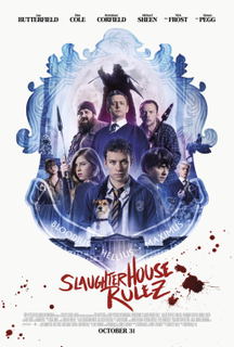 <i>Slaughterhouse Rulez</i> 2018 film directed by Crispian Mills