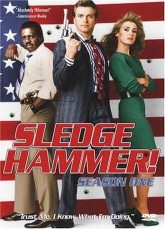 Sledge Hammer! - Image: Sledgehammer dvd
