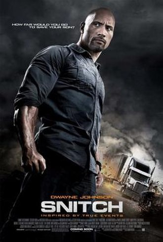 Snitch (film) - Theatrical release poster