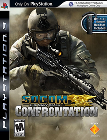 SOCOM U.S. Navy SEALs: Confrontation cover art