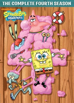 SpongeBob SquarePants (season 4) - DVD cover
