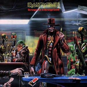 Stranger in a Strange Land (Iron Maiden song) - Image: Stranger in a Strange Land (Iron Maiden single cover art)