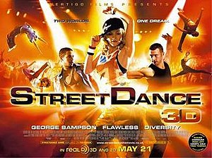 StreetDance 3D - Official release poster