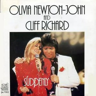 Suddenly (Olivia Newton-John and Cliff Richard song) - Image: Suddenly cover