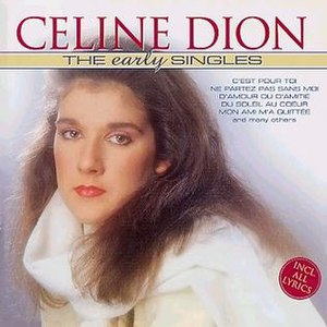 The Early Singles (Celine Dion album) - Image: TES01