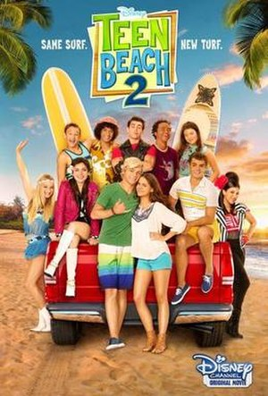 Teen Beach 2 - Image: Teen Beach 2