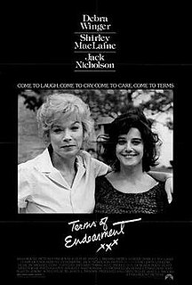 <i>Terms of Endearment</i> 1983 drama film directed by James L. Brooks