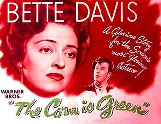 The Corn Is Green (1945 film) - Theatrical release poster