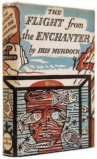 The Flight from the Enchanter - Cover of the first edition
