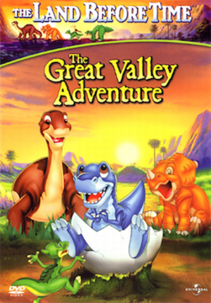 The Land Before Time II: The Great Valley Adventure - Image: The Land Before Time II DV Dcover