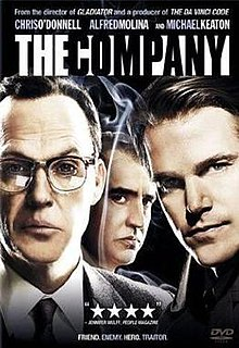 <i>The Company</i> (miniseries) American miniseries about the CIAs activity during the COld War