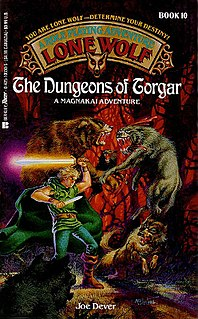 <i>The Dungeons of Torgar</i> book by Joe Dever