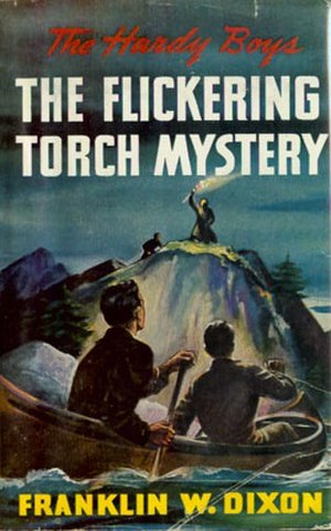 The Flickering Torch Mystery - Original edition