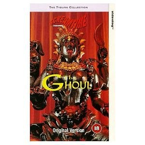 The Ghoul (1975 film) - UK VHS cover