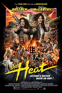 <i>The Heat</i> (film) 2013 American comedy film directed by Paul Feig