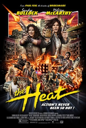 The Heat (film) - Theatrical release poster