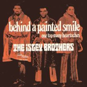 Behind a Painted Smile - Image: The Isley Brothers Behind a Painted Smile single cover