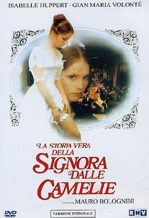 The Lady of the Camellias (1981 film) - DVD cover