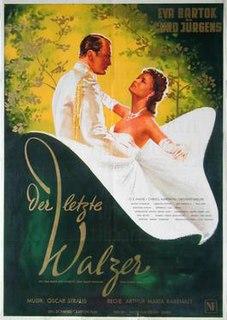<i>The Last Waltz</i> (1953 film) 1953 film