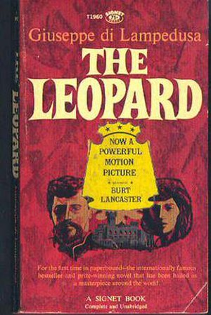 Giuseppe Tomasi di Lampedusa - English paperback edition