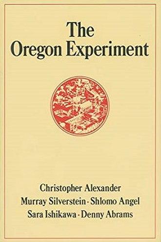 The Oregon Experiment - Image: The Oregon Experiment cover