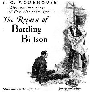 The Return of Battling Billson 1923 short story by P.G. Wodehouse