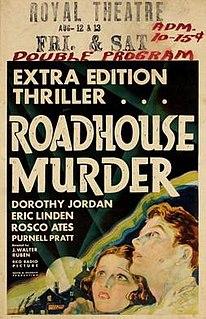 <i>The Roadhouse Murder</i> 1932 film by J. Walter Ruben
