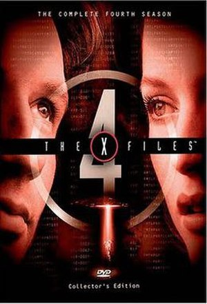 The X-Files (season 4) - DVD cover