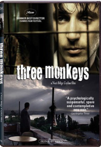 Three Monkeys - Theatrical release poster